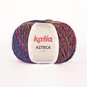 Katia Azteca fuchsia-blauw-groen-geel-oranje (7826)