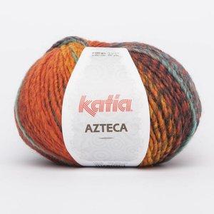 Katia Azteca geel-oranje-witgroen (7855)