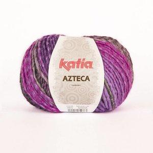 Katia Azteca grijs-lila-fuchsia (7815)