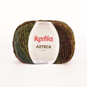 Katia Azteca groen-bruin-oranje-geel (7827)