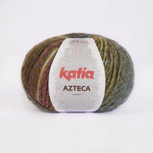 Katia Azteca groen-bruin-pastel (7849) op=op