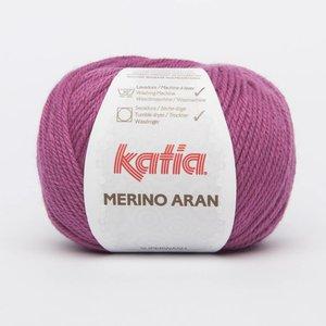 Katia Merino Aran donker fuchsia (75) op=op