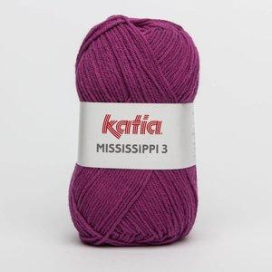Katia Mississippi 3 donker fuchsia (809)
