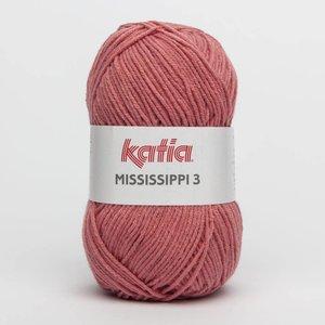 Katia Mississippi 3 medium bleekrood (810)