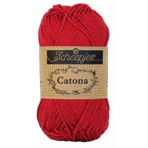 Scheepjes Catona 25 Scarlet (192)