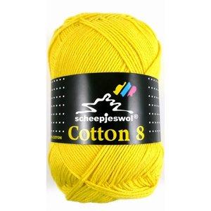 Scheepjes Cotton 8 kanariegeel (551)