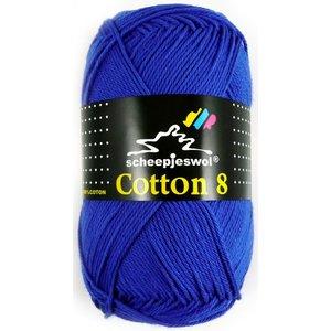 Scheepjes Cotton 8 kobaltblauw (519)