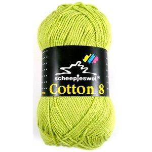 Scheepjes Cotton 8 lichtgroen (642)