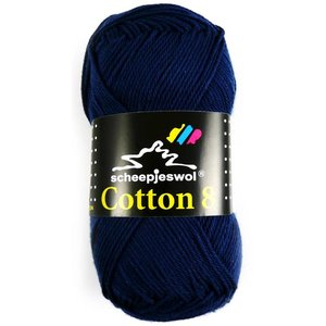 Scheepjes Cotton 8 marineblauw (527)