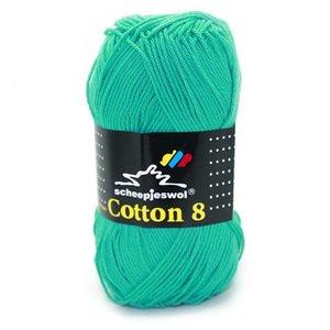 Scheepjes Cotton 8 smaragd (723)
