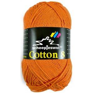 Scheepjes Cotton 8 zacht oranje (639)