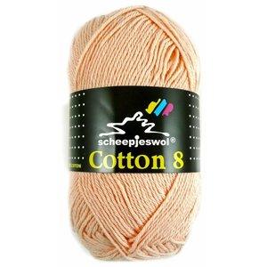 Scheepjes Cotton 8 zalmroze (715)