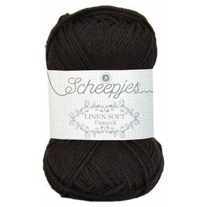 Scheepjes Linen Soft donkerbruin (601)