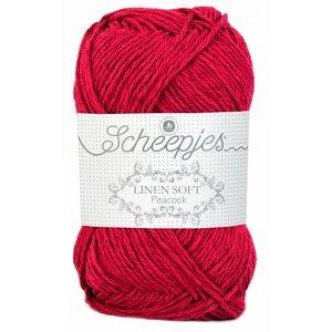 Scheepjes Linen Soft rood (604)