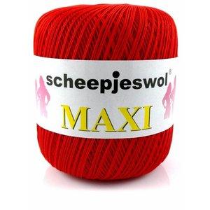 Scheepjes Maxi rood (722)
