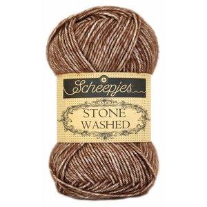 Scheepjes Stone Washed Brown Agate (822)