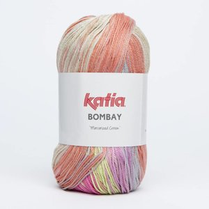 Katia Bombay oranje/grijs/rood (2017)