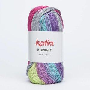 Katia Bombay turquoise/fuchsia (2019)