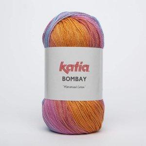 Katia Bombay oranje/blauw/roze (2028)