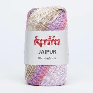 Katia Jaipur lila/beige (211) op=op