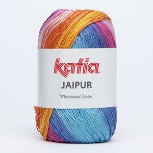 Katia Jaipur oranje/rood/blauw (213)