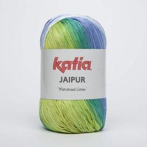 Katia Jaipur blauw/groen (215)