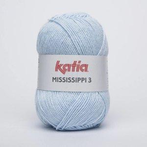 Katia Mississippi 3 licht hemelsblauw (813)