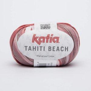 Katia Tahiti Beach bleekrood/wit (310) op=op