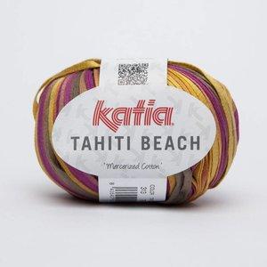 Katia Tahiti Beach beige/paars/geel (313) op=op
