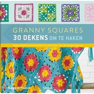 Granny squares - 30 dekens om te haken