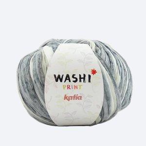 Katia Washi print grijs/wit (308)
