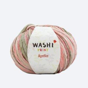 Katia Washi print beige/roze (304)