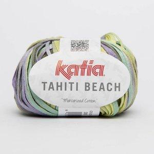 Katia Tahiti Beach witgroen geel lila (305)