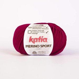 Katia Merino Sport robijnrood (25)