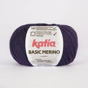Katia Basic Merino donker paars (43) op=op
