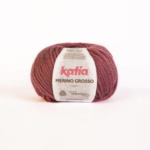 Katia Merino Grosso medium bleekrood (9)