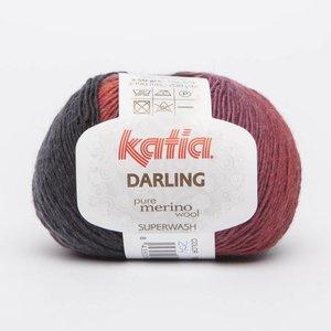 Katia Darling rood/zwart (204)