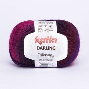 Katia Darling fuchsia/paars/zwart (205)