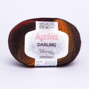 Katia Darling fuchsia/pistache/paars (209)