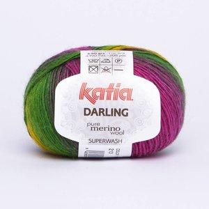 Katia Darling geel/fuchsia/groen (213)