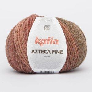 Katia Azteca Fine grijsbeige/rood (204)