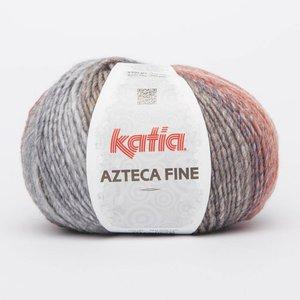 Katia Azteca Fine rood/grijs (205)