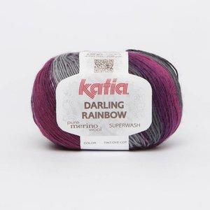 Katia Darling Rainbow Grijs-Lila (303)