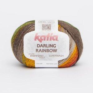 Katia Darling Rainbow Rood-Geel-Groen-Grijs-Beige (305)