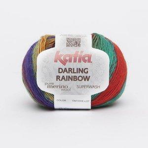 Katia Darling Rainbow Groen-Oranje-Roze-Lila (306)