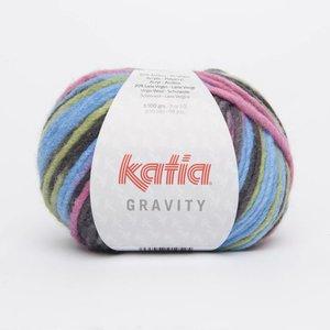 Katia Gravity Grijs/Fuchsia/Blauw/Groen (64)
