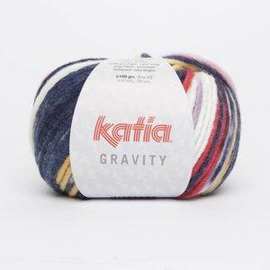 Katia Gravity Rood/Geel/Donkerblauw/Ecru (65)