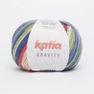 Katia Gravity Beige/Pistache/Koraal/Donkerblauw (66)