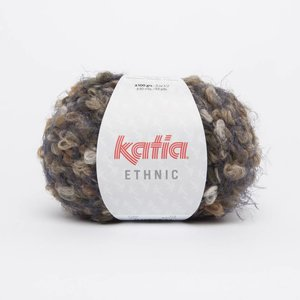 Katia Ethnic Camel/Beige/Mosgroen (56)