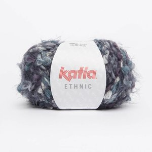 Katia Ethnic Parelmoer.Licht violet/Turqoise/Grijs (58)